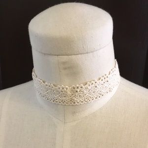 Design Lab Lord & Taylor Jewelry - DESIGN LAB Crochet Choker Necklace